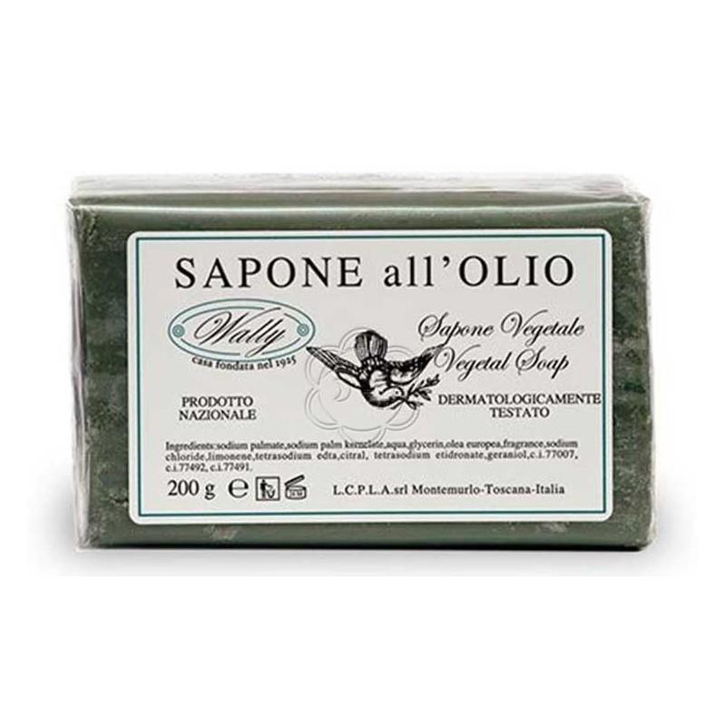 Saponetta Olio di Oliva (200 g) Wally - Cosmesi
