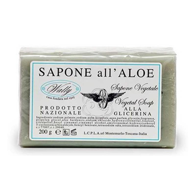 Saponetta Aloe vera (200 g) Wally - Cosmesi