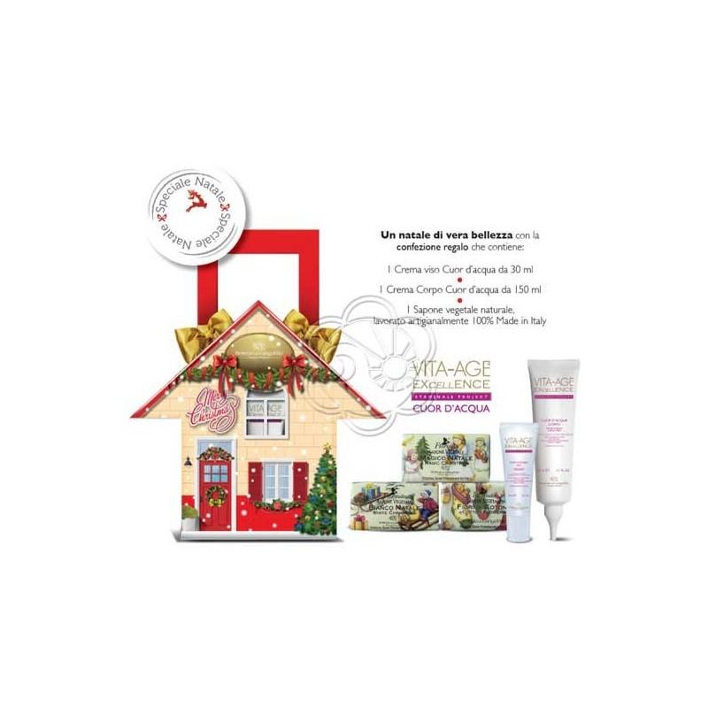 Confezione Natale Casa Christmas (Crema Viso + Crema Corpo + Sapone) Bottega di Lungavita - Regali di Natale
