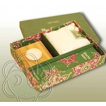 Confezione Regalo per Ambienti (Gift Box Muschio Bianco) Dhanvantari - Natale
