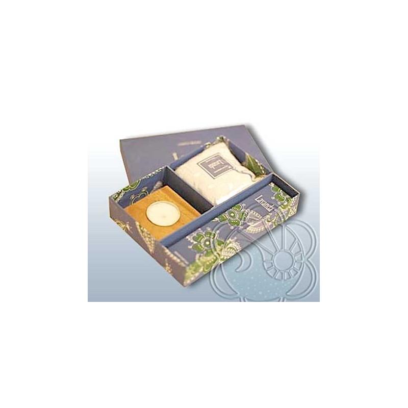 Confezione Regalo per Ambienti (Gift Box Lavanda) Dhanvantari - Natale