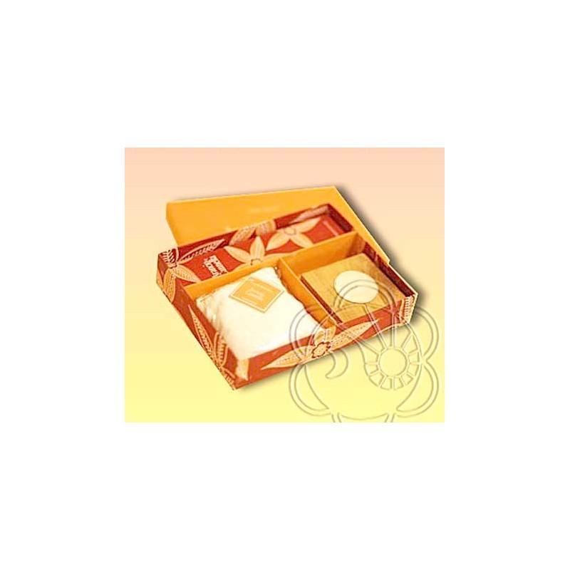 Confezione Regalo per Ambienti (Gift Box Arancio e Cannella) Dhanvantari - Natale