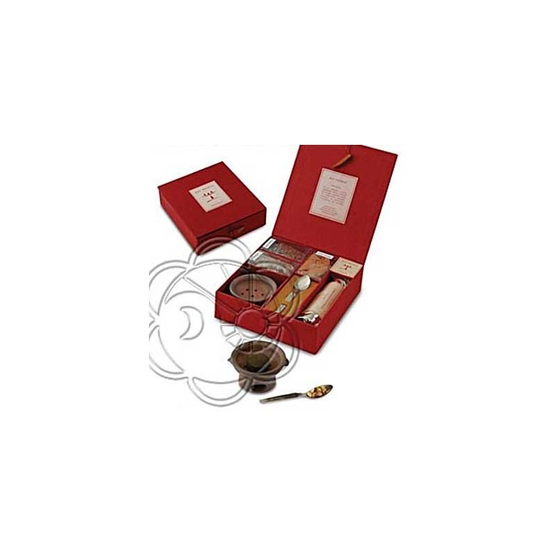 Confezione Regalo Kit Resine (Colore Rosso) Dhanvantari - Natale