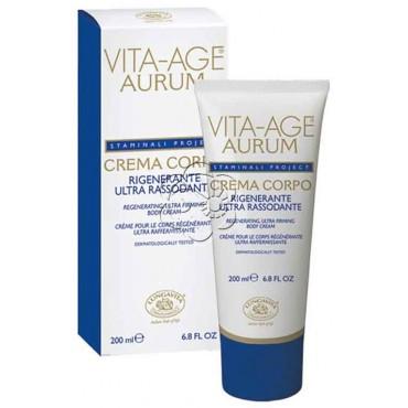 Crema Corpo Ultra Rassodante e Rigenerante Vita Age Aurum (200 ml) Bottega di Lungavita - Creme Rassodanti