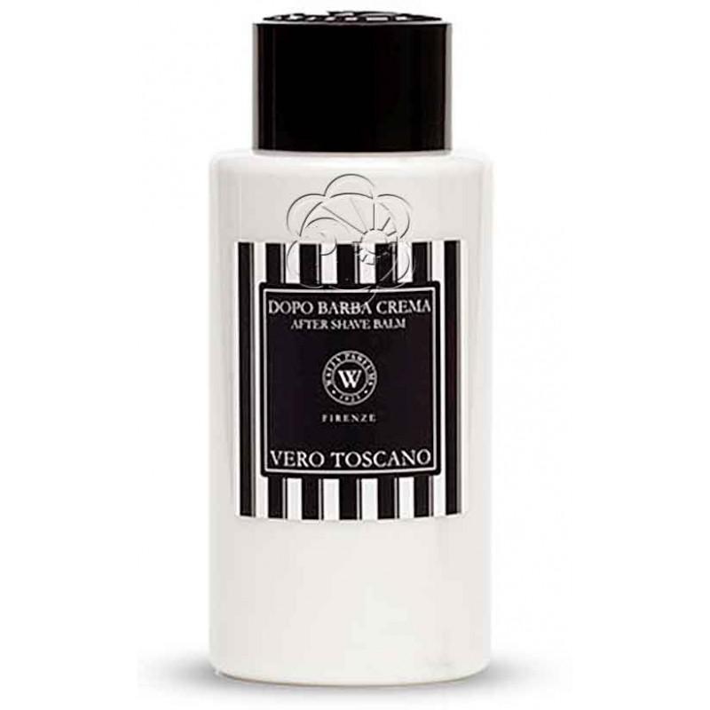Crema Dopo Barba Vero Toscano Nero (100 ml) Wally - Protettivo