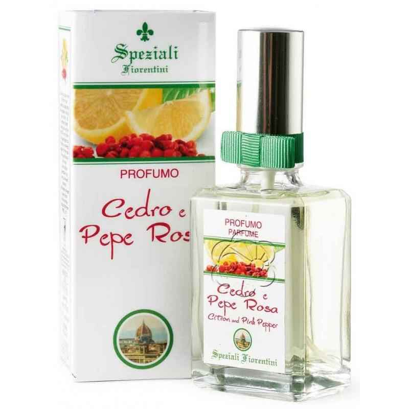 Profumo Cedro e Pepe Rosa (50 ml) Derbe Speziali Fiorentini - Regali