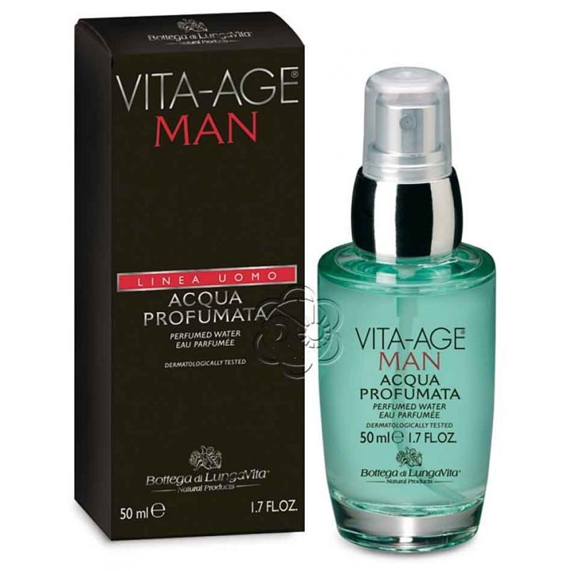 Acqua Profumata Vita Age Uomo (50 ml) Bottega di Lungavita - Acque di Toilette