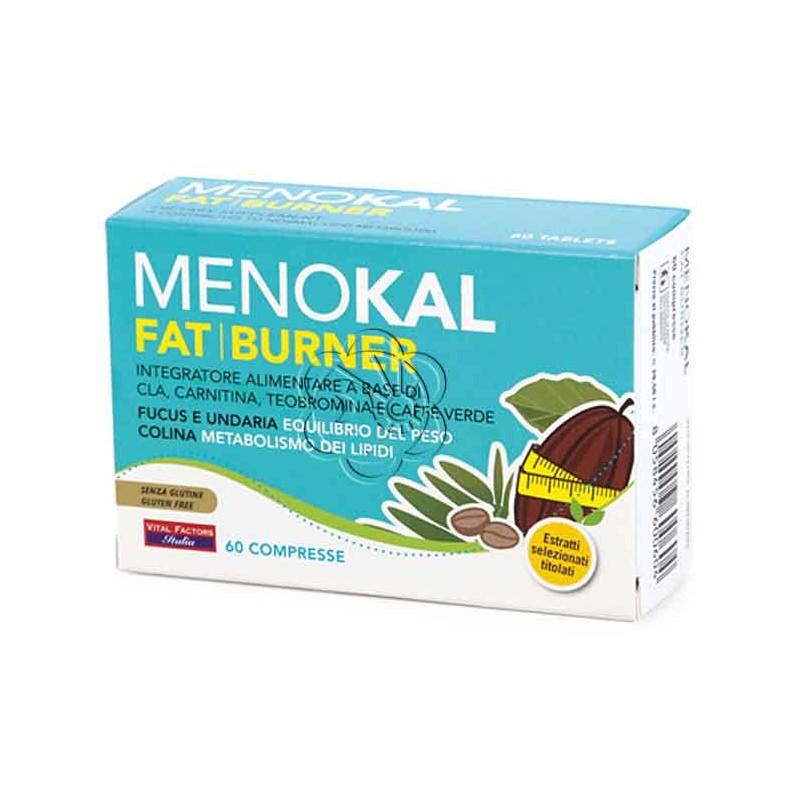 Menokal Fat Burner (60 Compresse) Vital Factors - Dimagrante