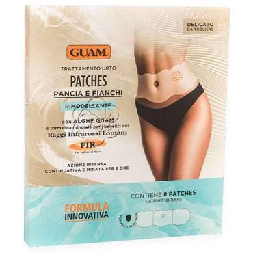 Patches Pancia e Fianchi (8 Patches) Guam Lacote - Cellulite