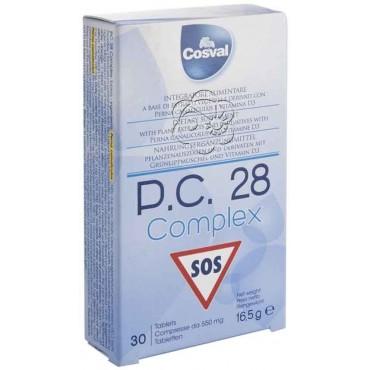 PC 28 Complex Tavolette Deglutibili (30 Tavolette) Cosval - Dolori
