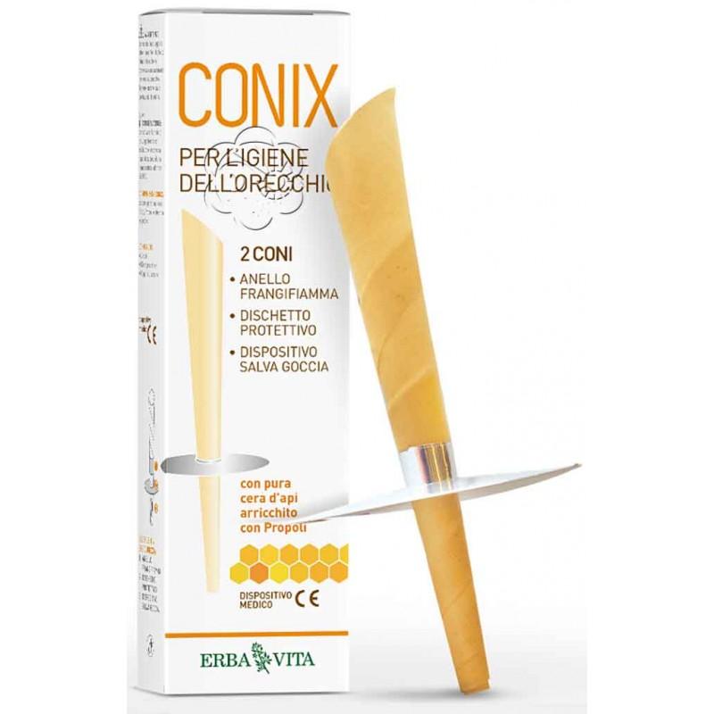 Coni per le Orecchie Conix (2 coni) - Pulizia Orecchio