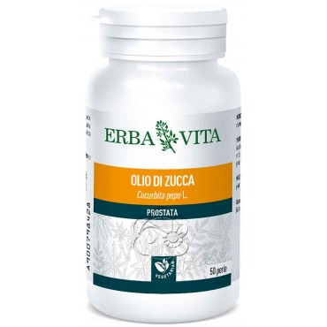 Olio di Semi di Zucca (50 Perle) Erba Vita - Prostatite