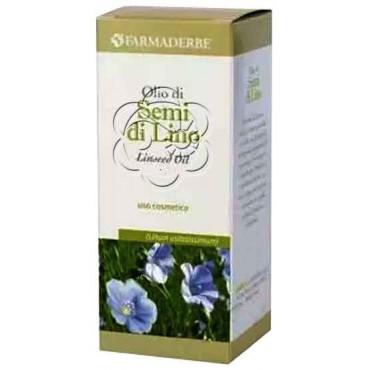 Olio di Semi di Lino Uso Cosmetico (100 ml) Farmaderbe - Emollienti e Lenitivi