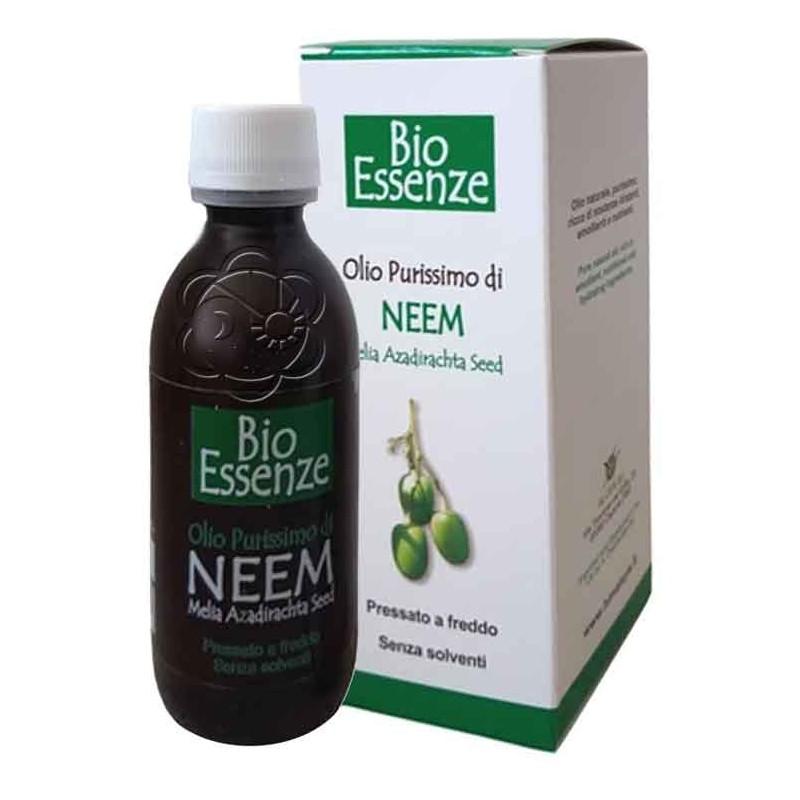 Olio di Neem Purissimo (125 ml) Bioessenze - Disinfettanti
