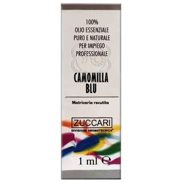 Olio Essenziale di Camomilla Blu (1 ml) Zuccari - Aromaterapia
