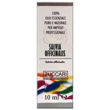 Olio Essenziale di Salvia officinalis (10 ml) Zuccari - Aromaterapia