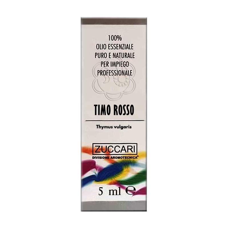Olio Essenziale di Timo Rosso (5 ml) Zuccari - Aromaterapia