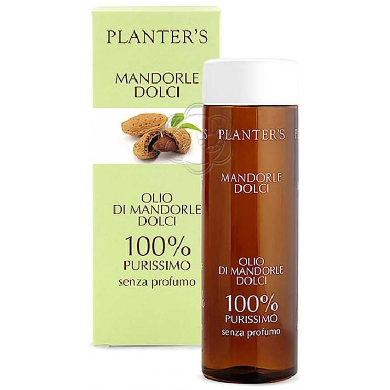 Olio di Mandorle Dolci Senza Profumo (200 ml) Planters - Cosmesi