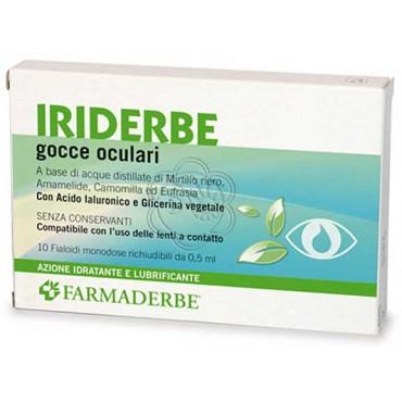 Collirio Iriderbe - Gocce Oculari (3,3 ml) Farmaderbe
