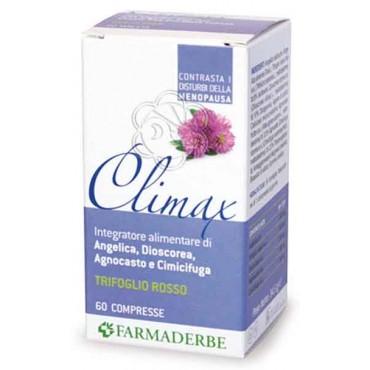 Climax (60 Compresse) Farmaderbe - Fitoestrogeni