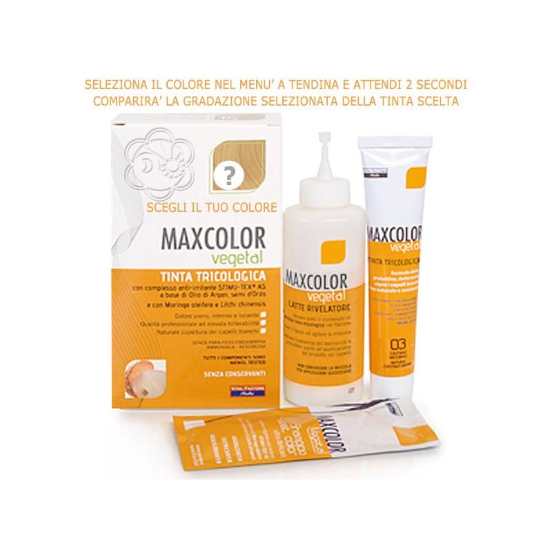 TInte per Capelli MaxColor Senza ammoniaca ed altre sostanze nocive