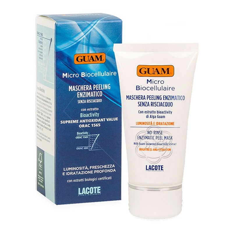 Maschera Peeling Enzimatico Micro Biocellulaire (75 ml) Guam Lacote - Cosmesi