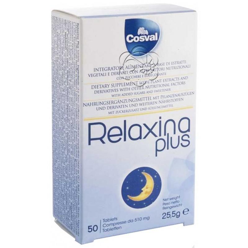 Relaxina Plus da 50 Tavolette Cosval - Insonnia, Ansia