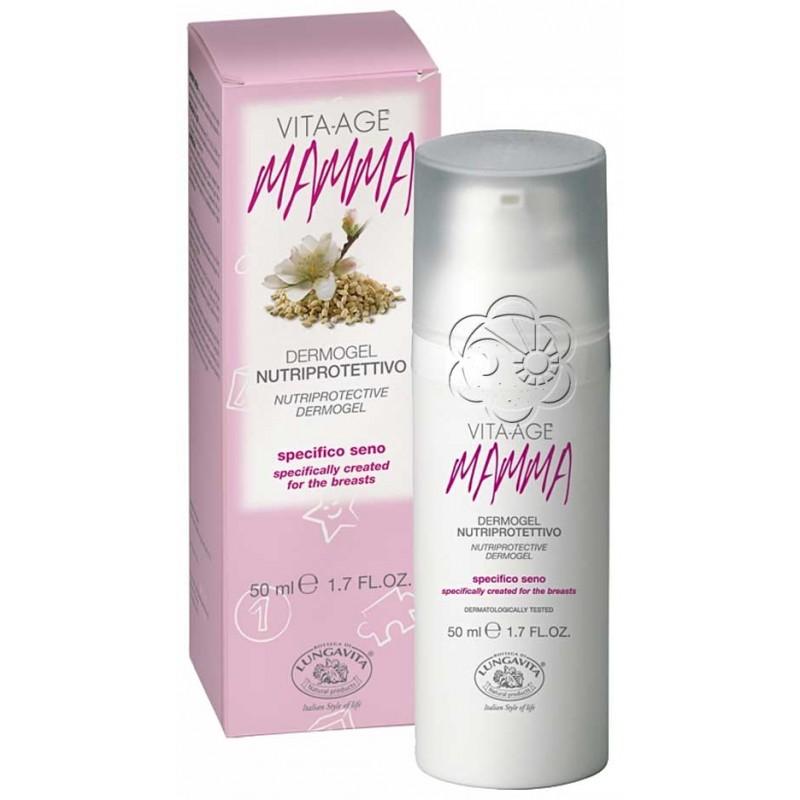 Dermogel Seno Nutriprotettivo Mamma Vita Age (50 ml) Bottega di Lungavita - Creme Seno