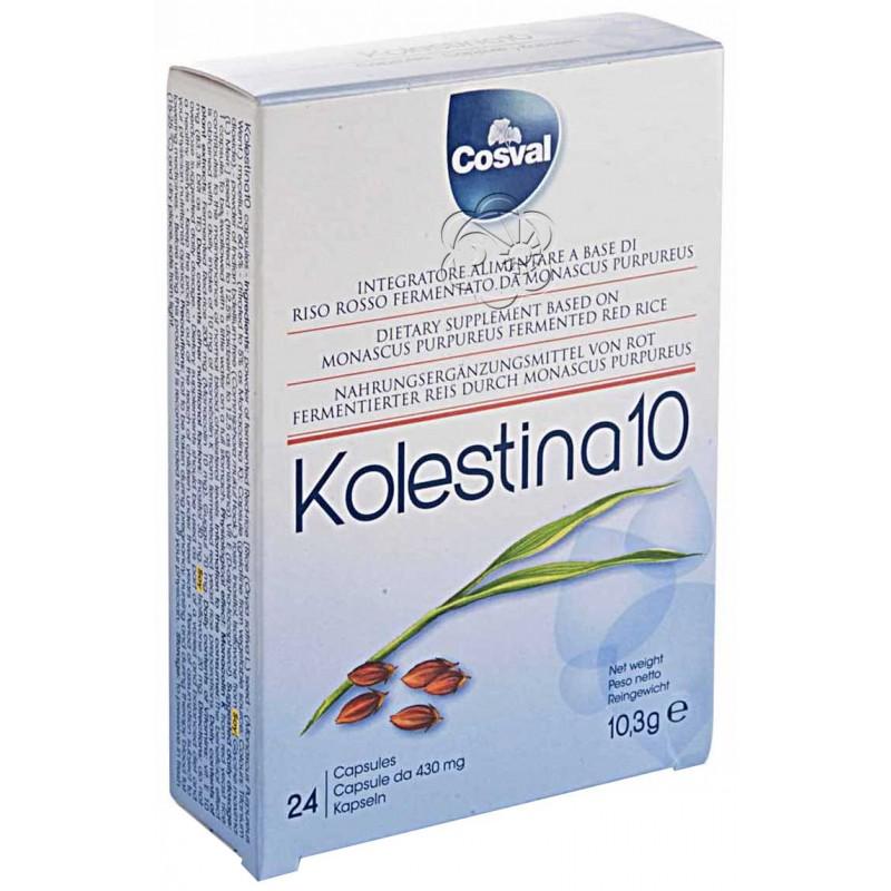 Kolestina 10 Complex (24 Capsule da 540 mg) Cosval - Colesterolo