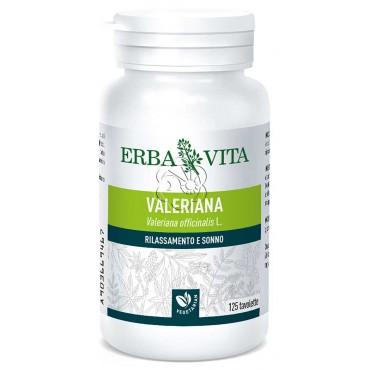 Valeriana (125 Tavolette da 400 mg) Erba Vita - Calmanti