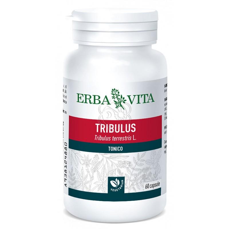 Tribulus terrestris (45 Capsule da 500 mg) Erba Vita - Energetici