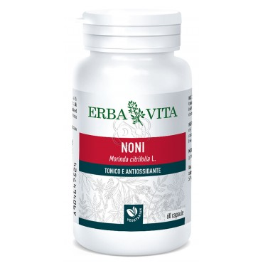 Noni in Capsule (60 Capsule) Erba Vita - Tonico, Antiossidante