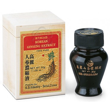 Ginseng Coreano Estratto Molle (30 g di Panax ginseng) - ABC Trading - Tonici Energetici