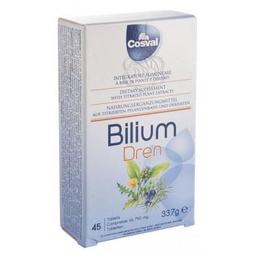 Bilium Dren - (45 Tavolette) Cosval - Ritenzione di liquidi