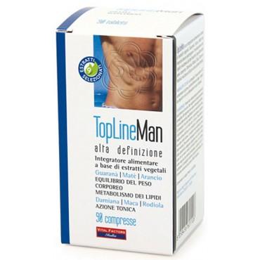 Top Line Man Alta Definizione (90 Compresse) Vital Factors - Dimagranti per Uomo