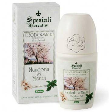 Deodorante Roll On Mandorla e Menta (50 ml) Derbe Speziali Fiorentini - Antiodoranti