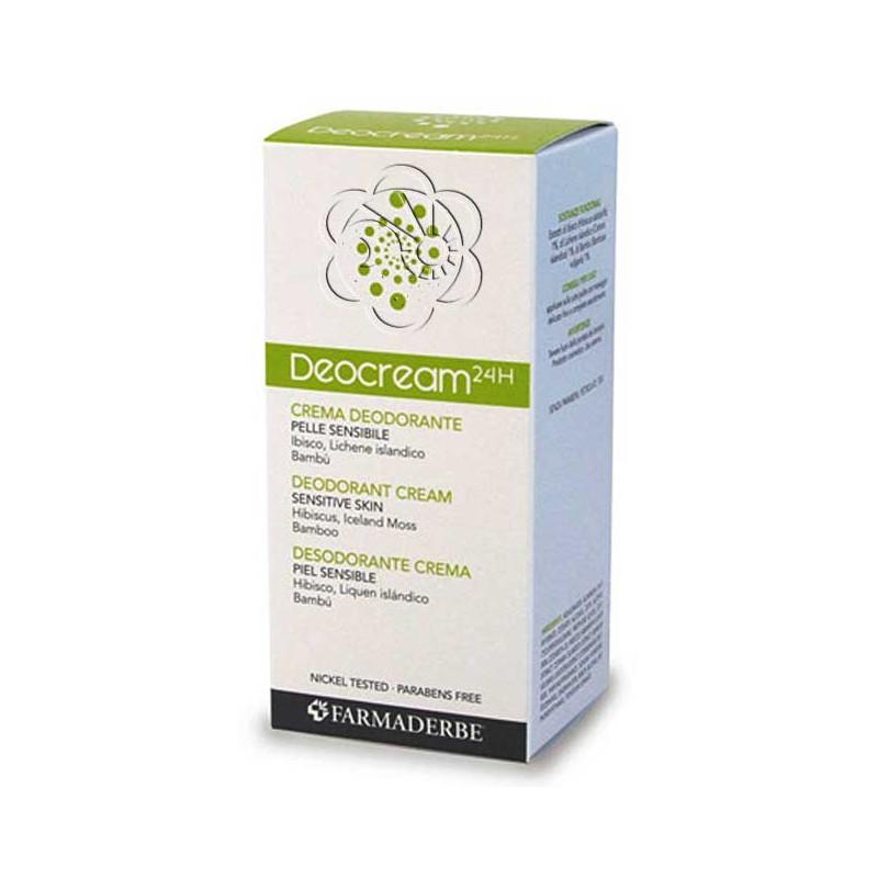 Crema Deodorante Deocream (50 ml) Farmaderbe Nutralité - Antiodorante
