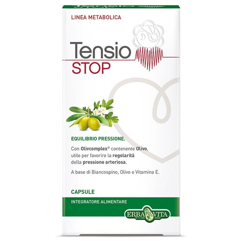 Tensio Stop (40 Capsule) Erba Vita - Pressione Sanguigna