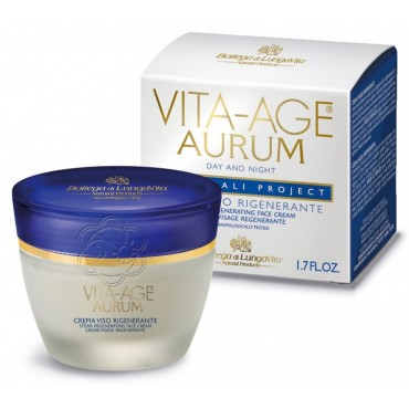 CremaRigenerante Anti Rughe Vita Age Aurum (50 ml) Bottega di Lungavita - Cosmesi Vegetale