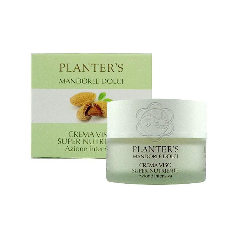 Crema Viso Supernutriente Mandorle Dolci (50 ml) Planters - Cosmesi Vegetale
