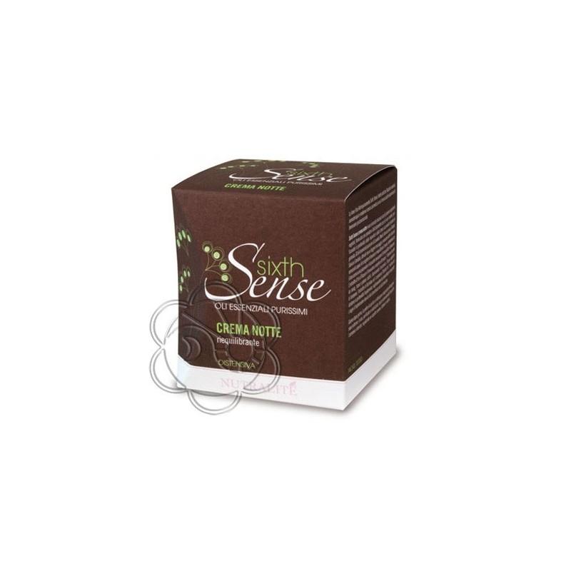 Crema Viso Notte Riequilibrante Distensiva Sixth Sense (50 ml) Farmaderbe Nutralité - Cosmesi