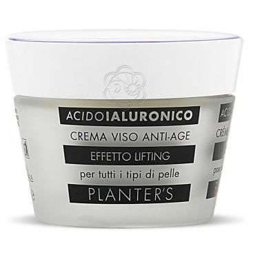 Crema Viso Lifting Acido Ialuronico (50 ml) Planters - Cosmesi Vegetale
