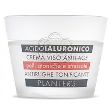 Crema Viso Antirughe Acido Ialuronico (50 ml) Planters - Cosmesi Vegetale