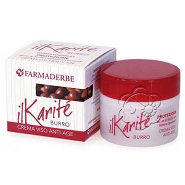 Crema Viso Anti Age al Burro di Karitè (50 ml) Farmaderbe Nutralité - Cosmesi