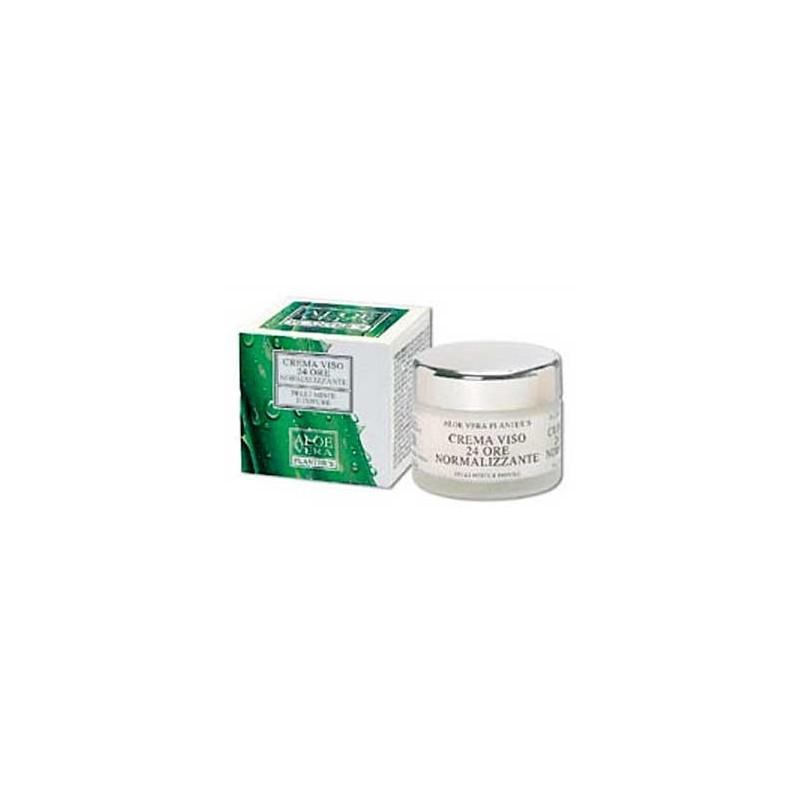 Crema viso 24 ore Normalizzante per Pelli Miste ed Impure (50 ml) Planters - Cosmesi
