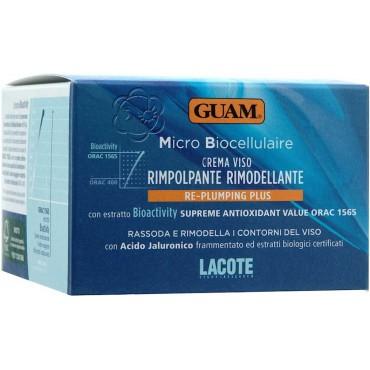 Crema Rimpolpante Rimodellante Re-Plumping Plus Micro Biocellulaire (50 ml) Guam Lacote - Cosmesi