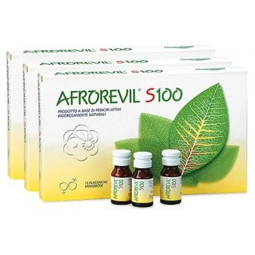 Afrorevil S100 (36 flaconcini) ABC - Tonico Afrodisiaco, Impotenza