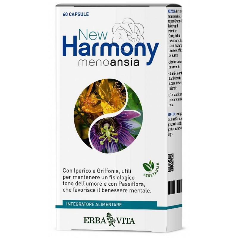 New Harmony Menoansia (60 Capsule) Erba Vita - Antidepressivi Naturali, Depressione