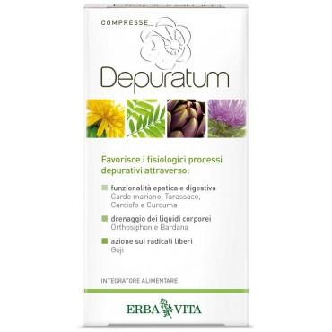 Depuratum Compresse (30 Compresse) Erba Vita - Depurativi, Disintossicanti