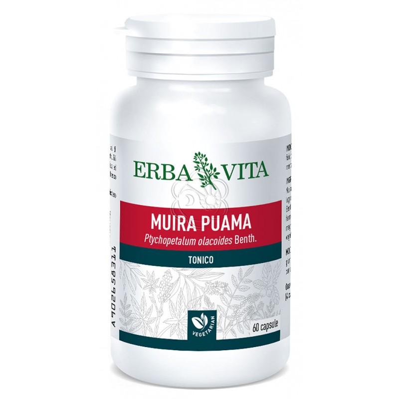 Muira Puama (60 Capsule) Erba Vita - Afrodisiaci
